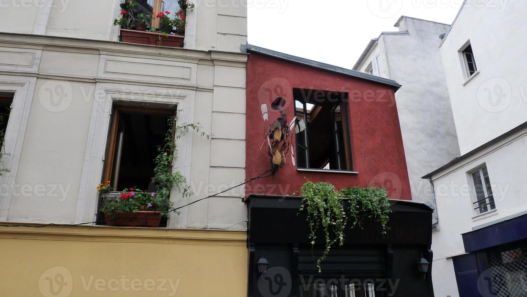 apartamentos da cidade de paris foto
