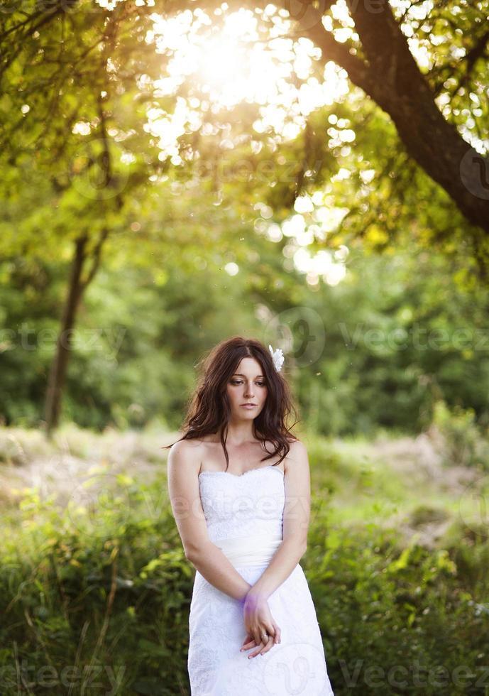retrato nupcial foto