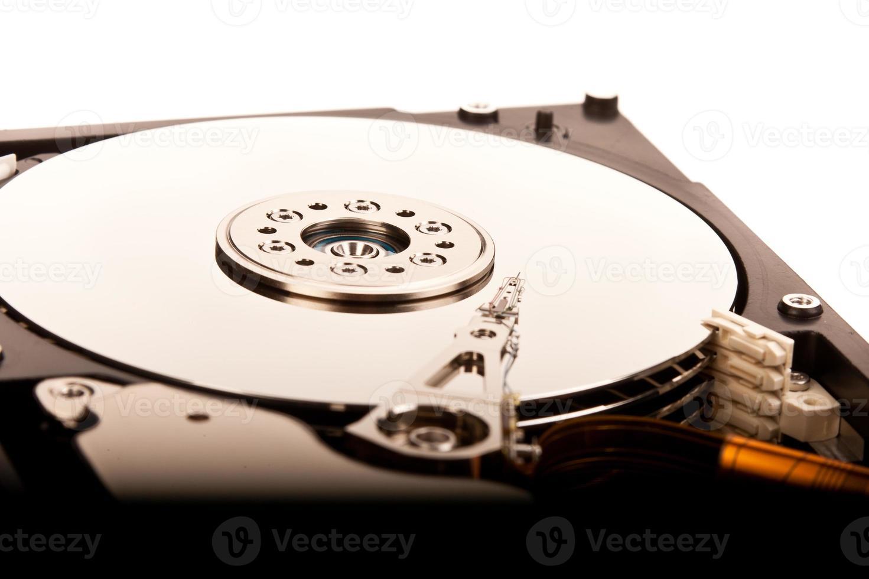 close-up do disco rígido foto