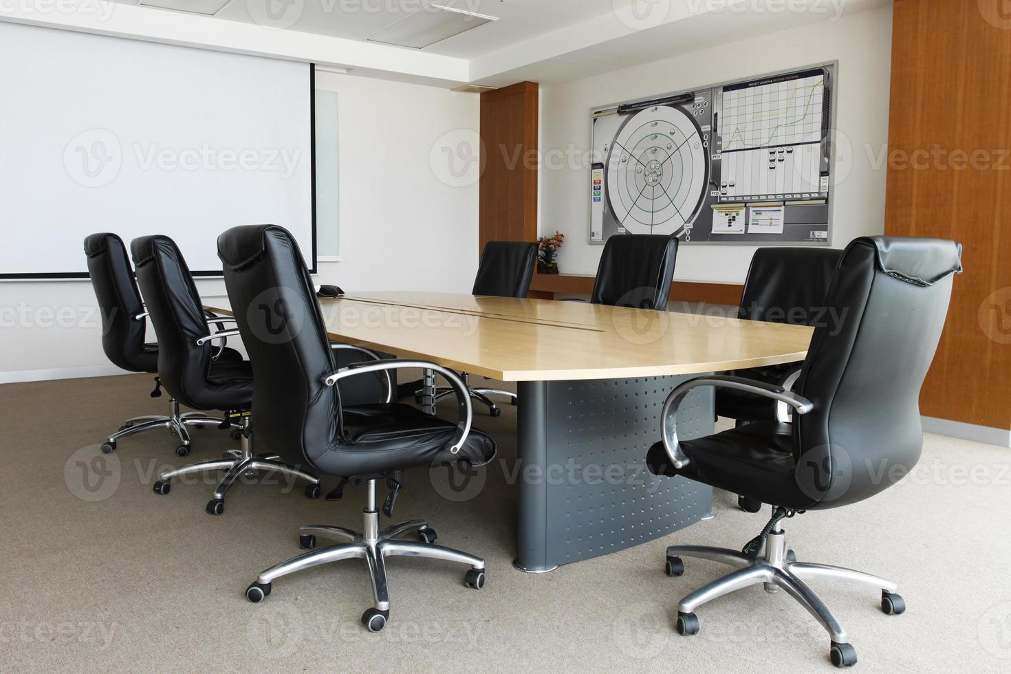 pequena sala de reunião foto