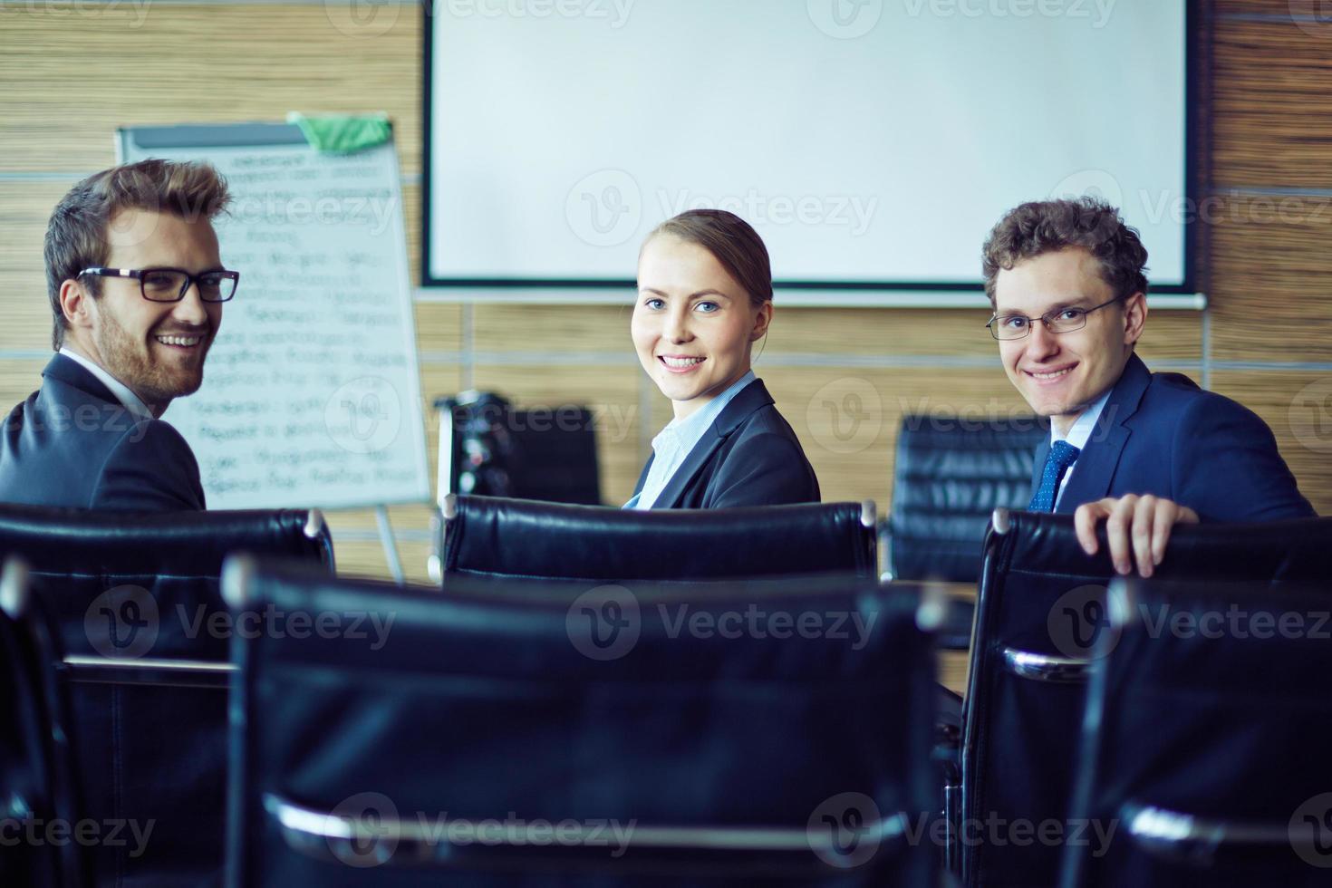 profissionais felizes foto