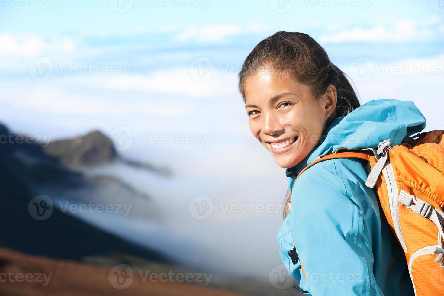 retrato de alpinista foto