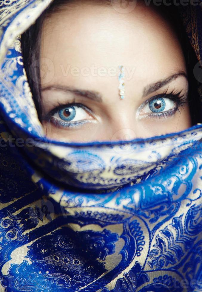 retrato de sari foto