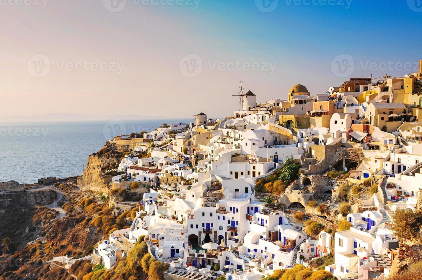 oia, santorini, grécia foto