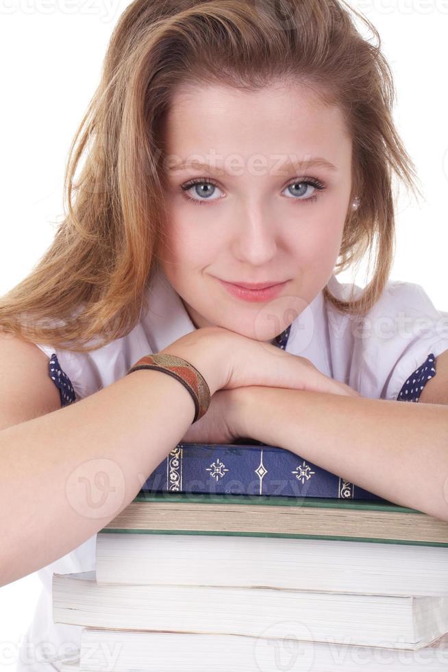 retrato de estudante foto