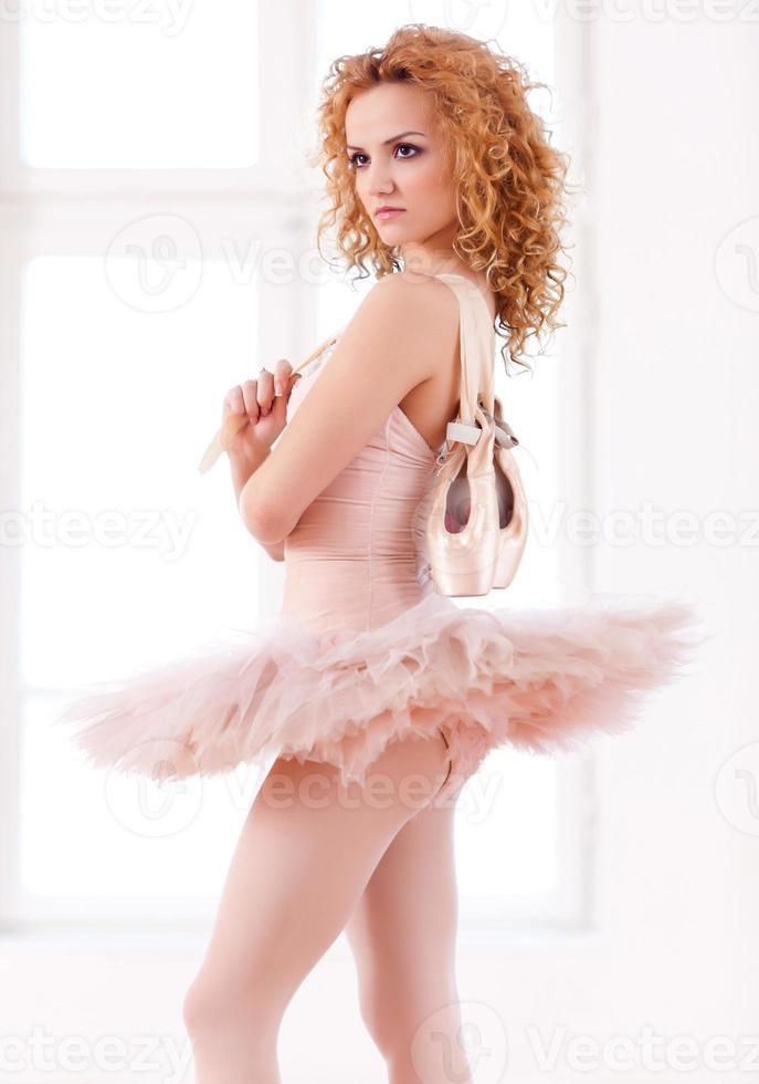 retrato de bailarina foto