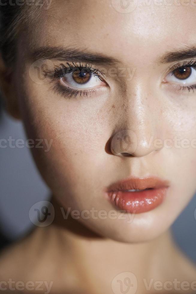 retrato de modelo de beleza foto