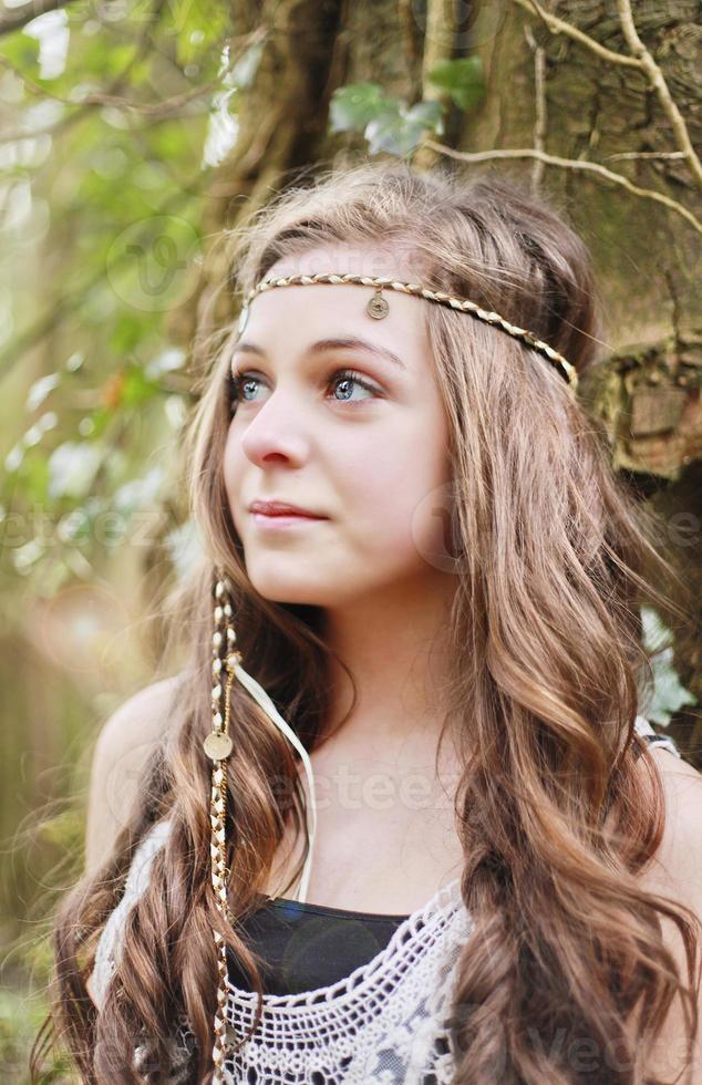bela adolescente foto