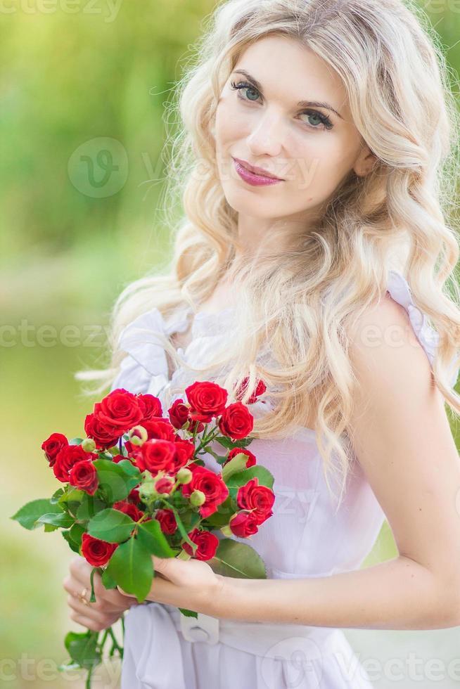 retrato de mulher beleza foto