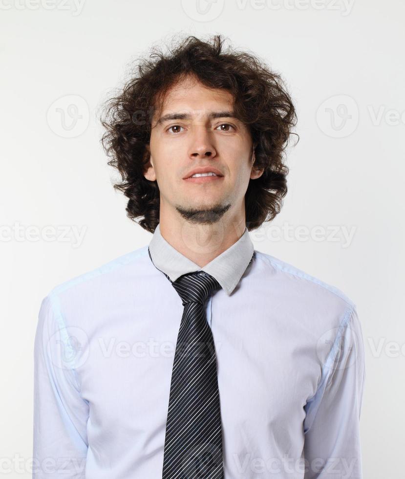 retrato do jovem empresário. foto