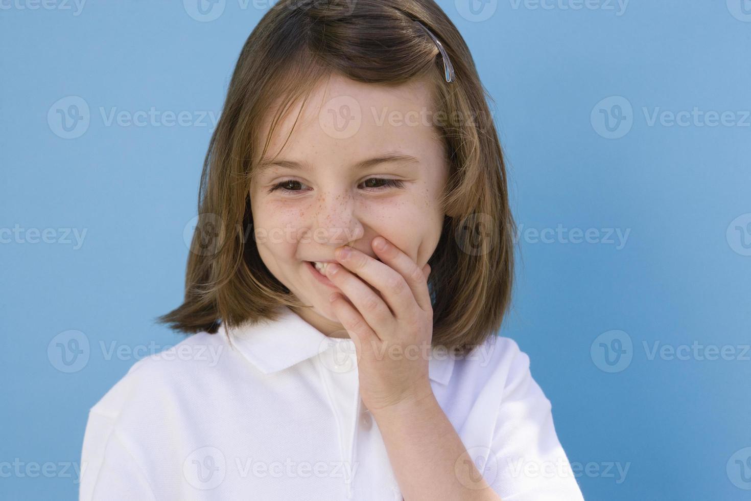 retrato de criança foto
