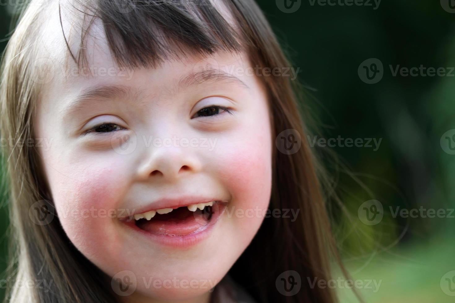 retrato de menina foto