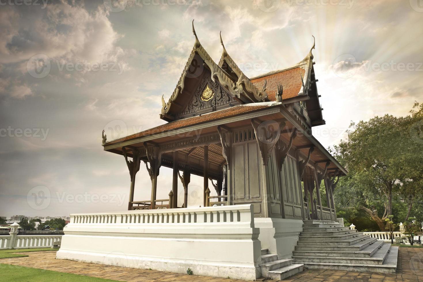 pequeno palácio real foto