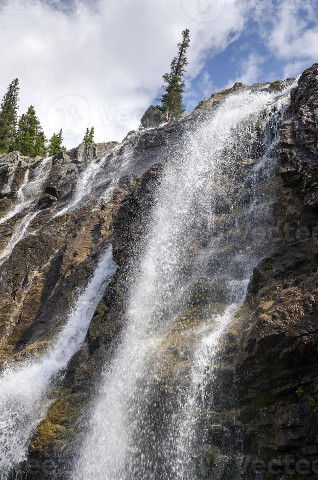 emaranhado riacho cai no Canadá foto