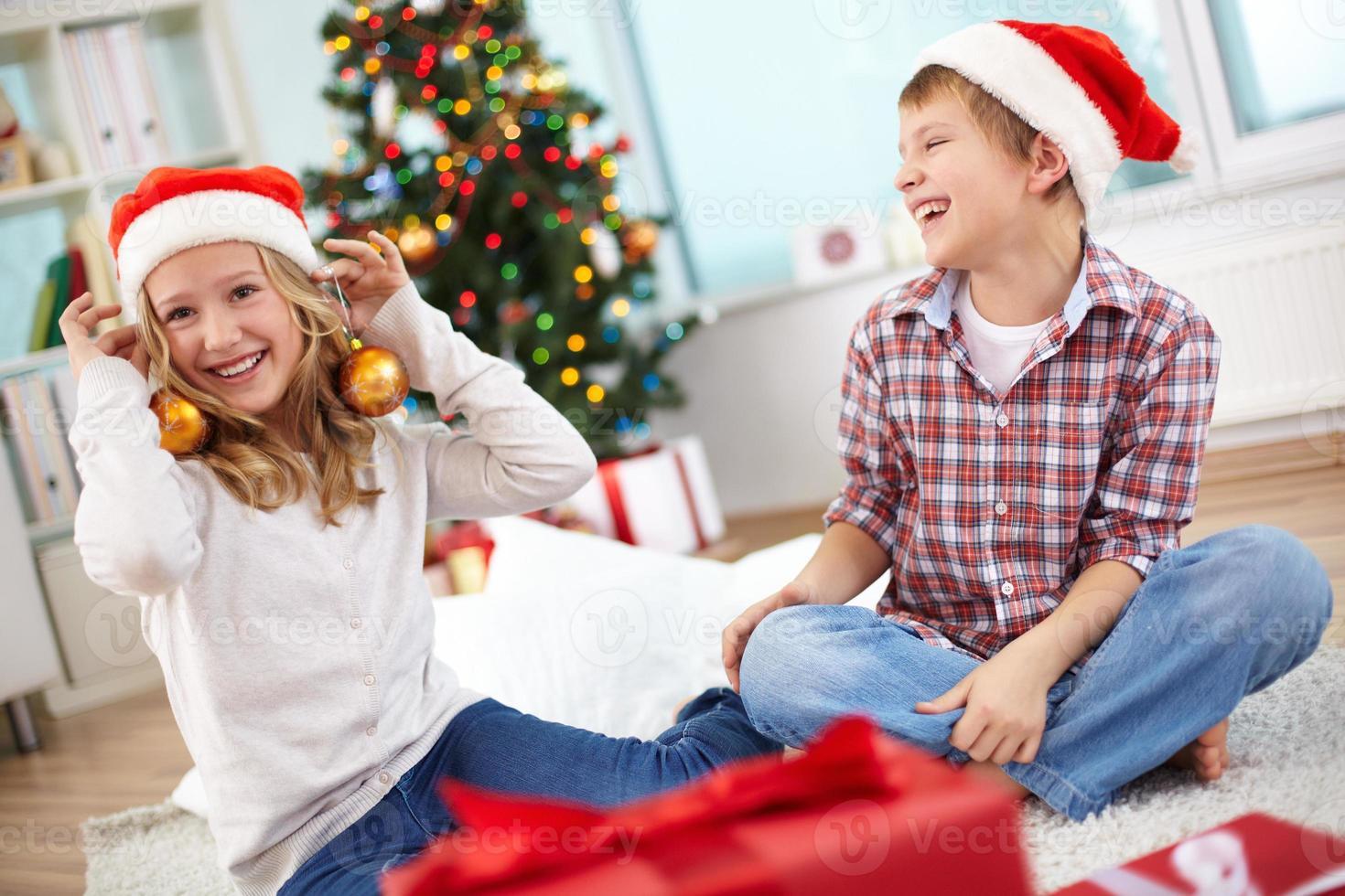 diversão de natal foto