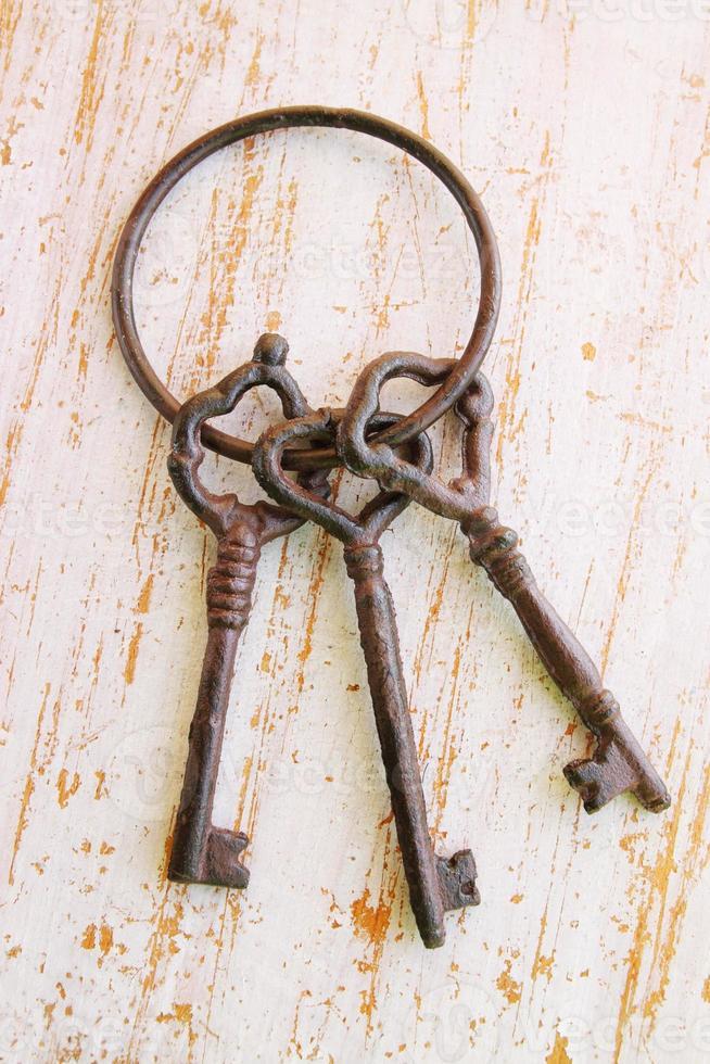três chaves foto