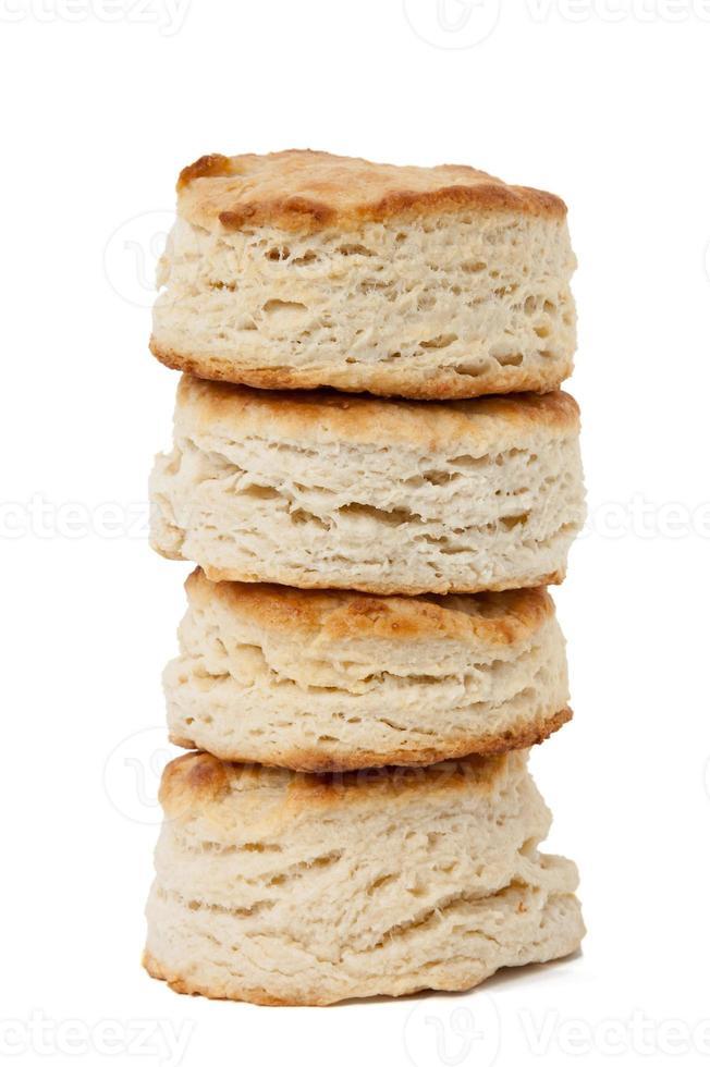 pilha de biscoitos caseiros foto