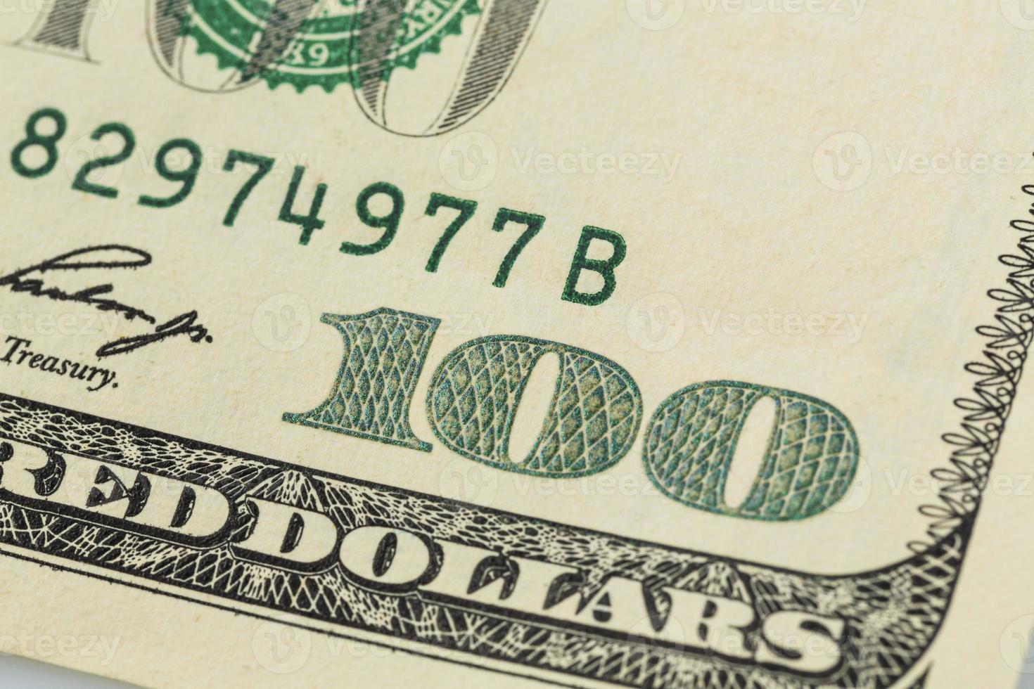 muitas notas de dólar foto