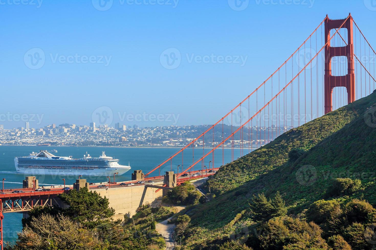 ponte golden gate em são francisco foto