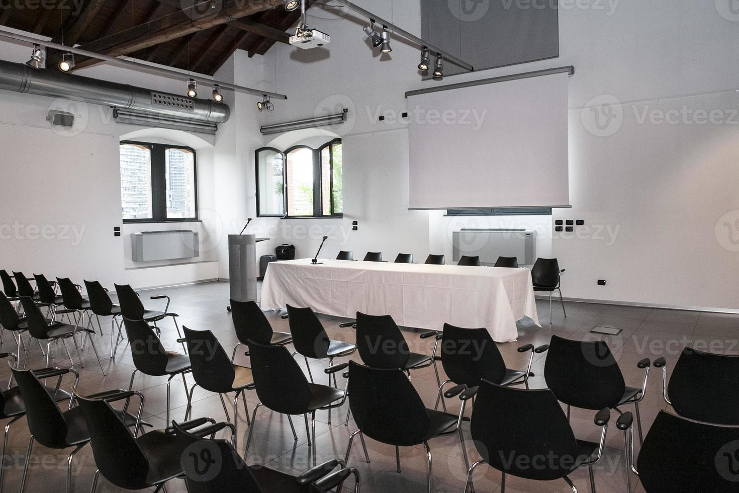 sala de conferencia foto