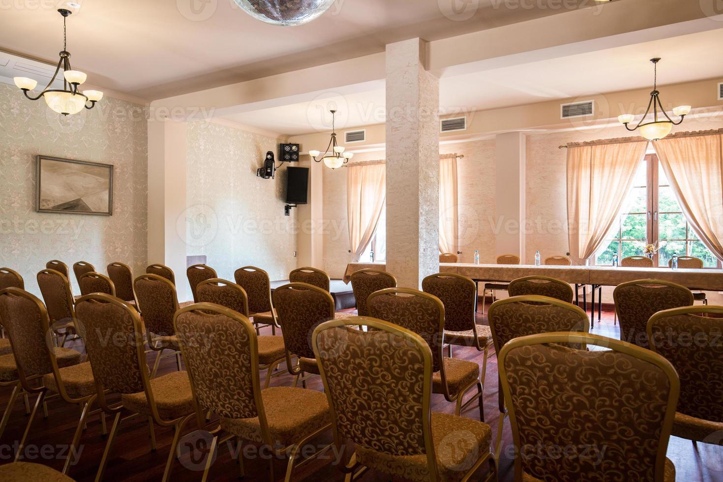espaço para conferências de negócios foto