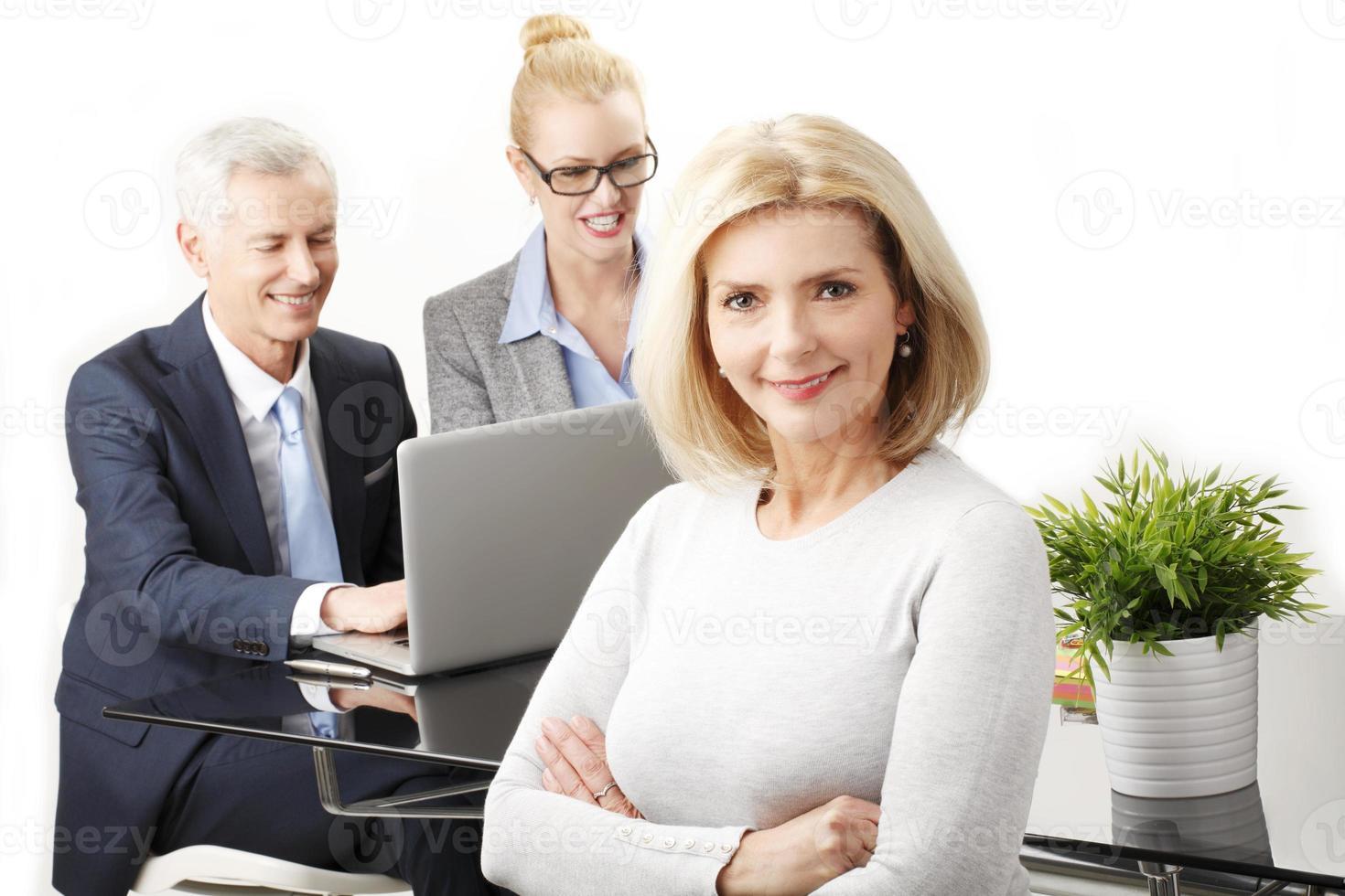 retrato de pessoas de negócios foto