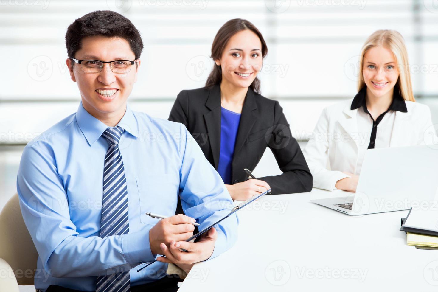 grupo de pessoas de negócios foto