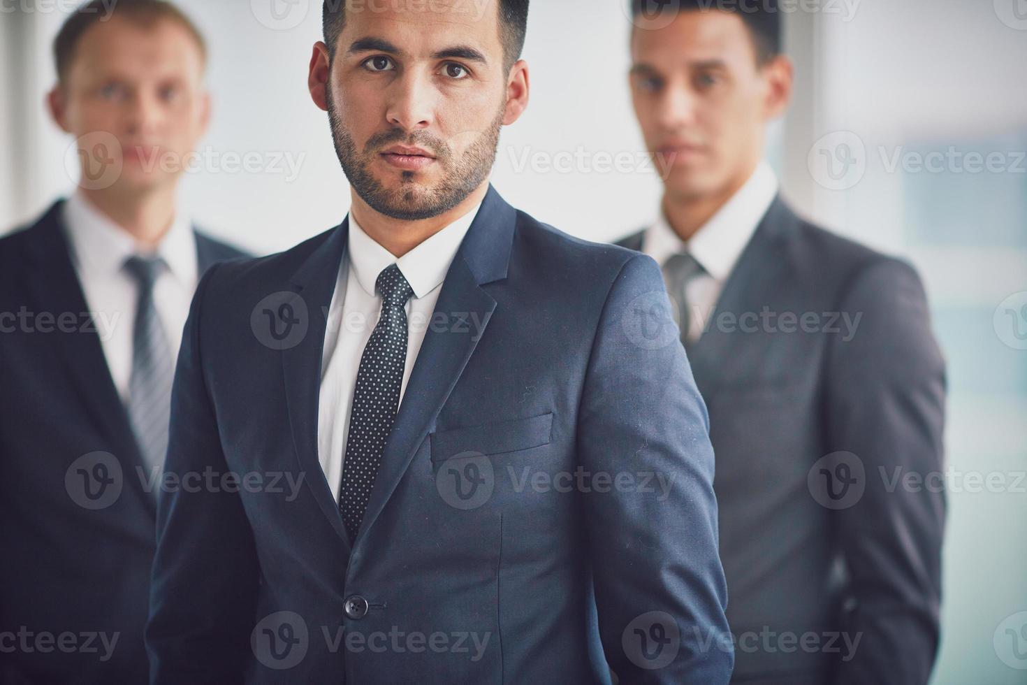 líder de negócios foto