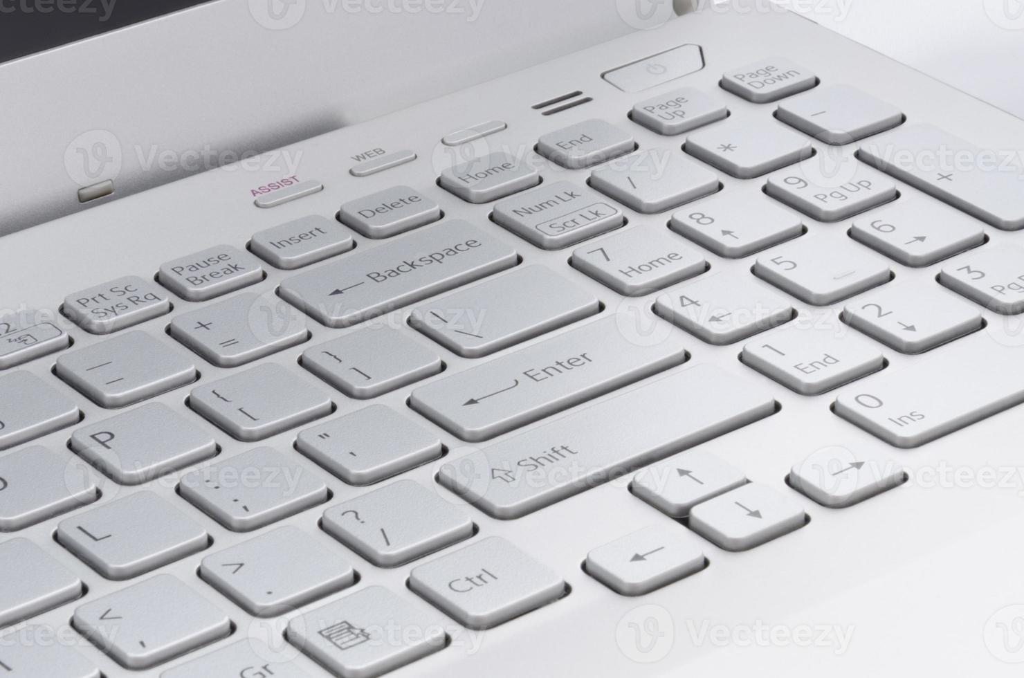 lado direito do teclado foto