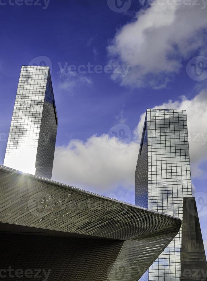 distrito do centro de arranha-céus foto
