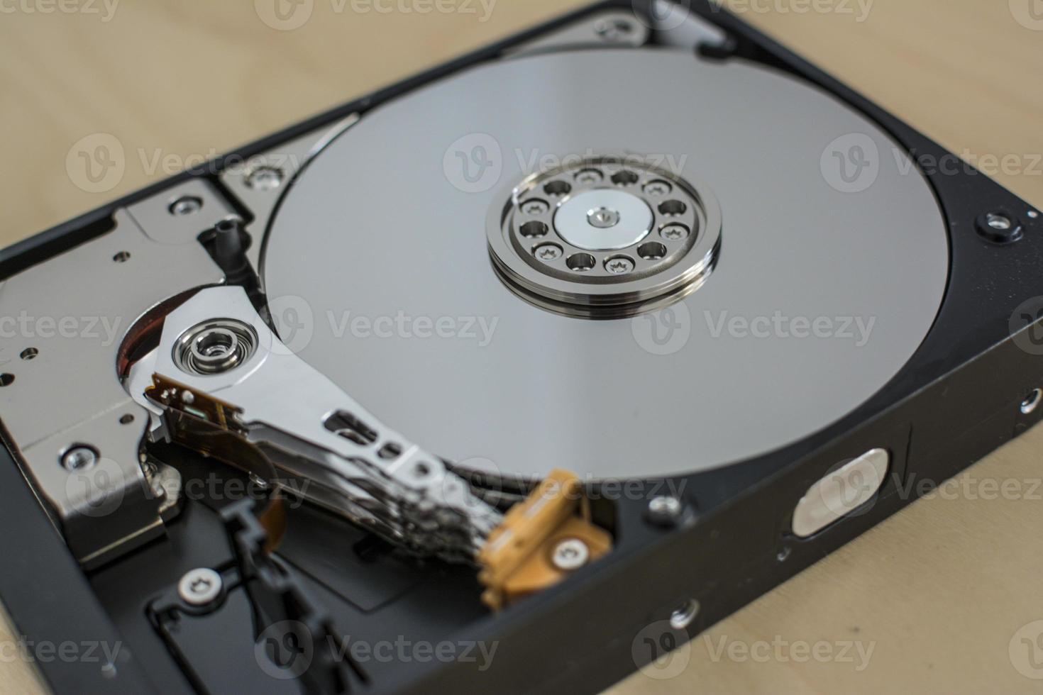 unidade de disco rígido do computador foto