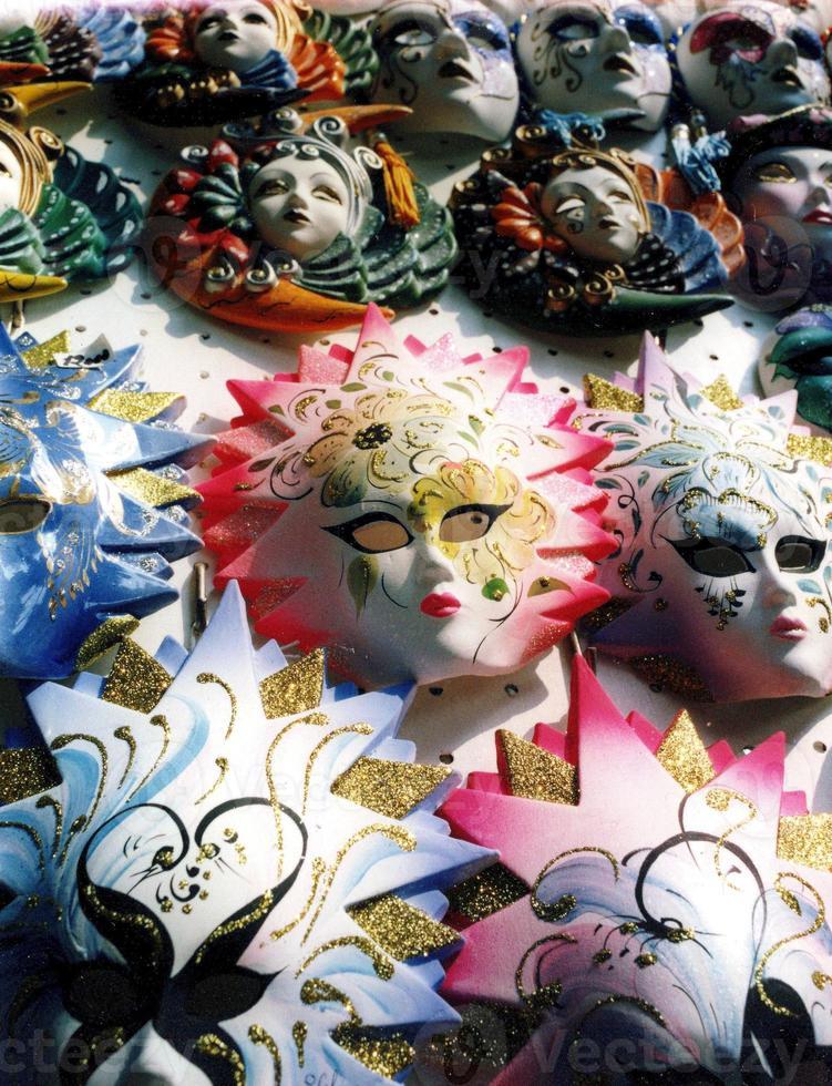 máscaras venezianas foto