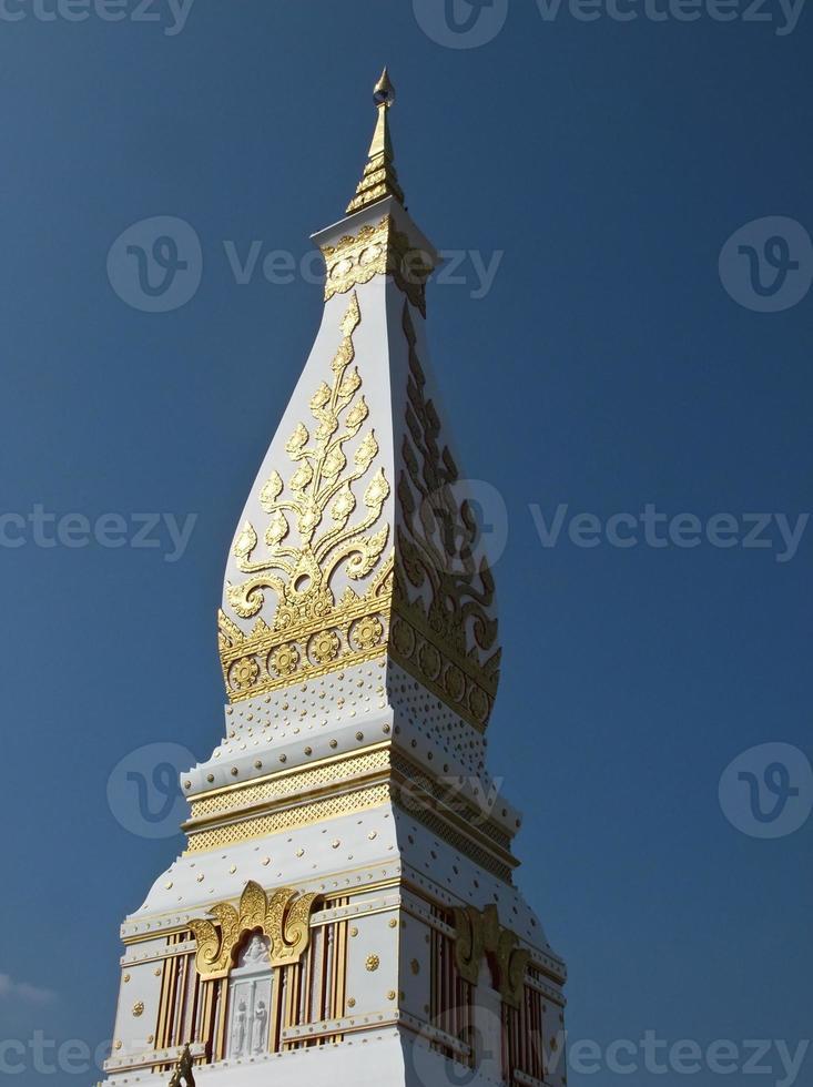 phra que panom pagode em nakhon phanom, tailândia foto