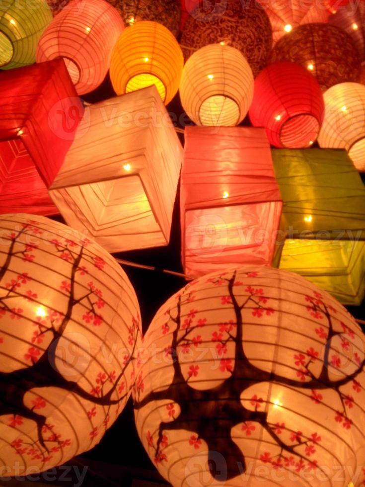 festival das lanternas foto