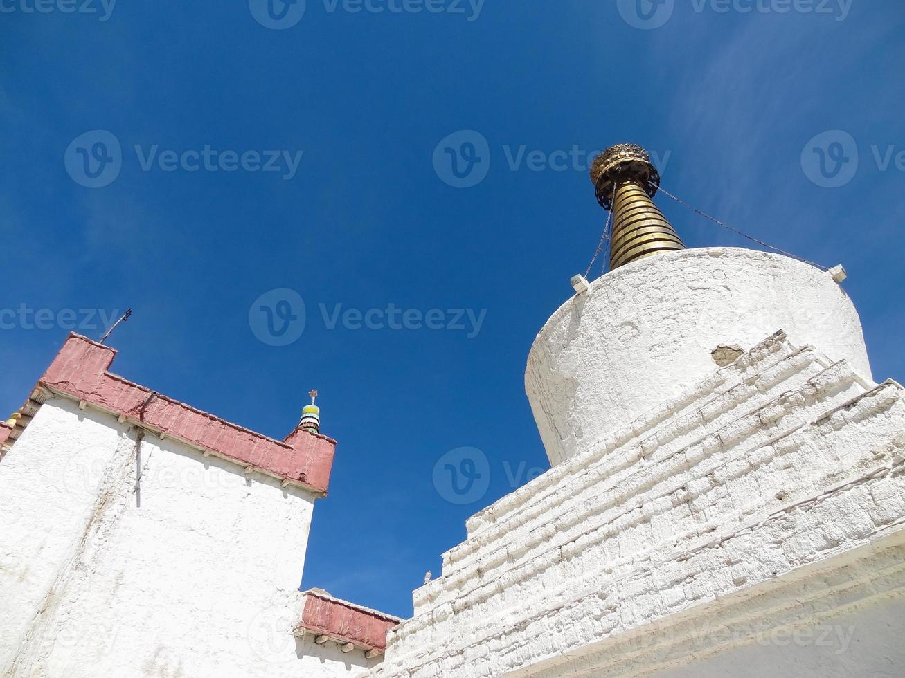 shey palácio e santuário em ladakh, Índia foto