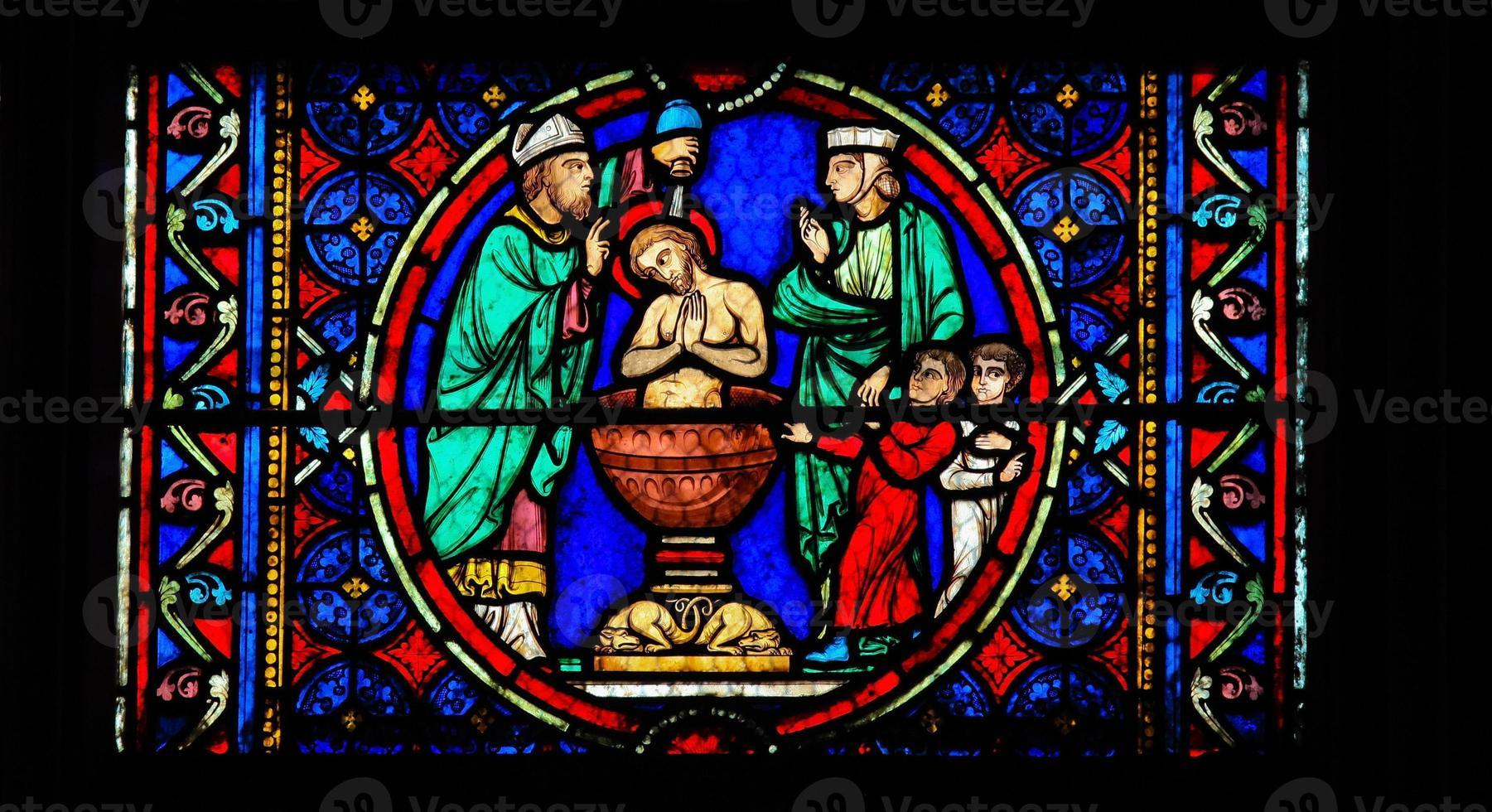 batismo de cristo foto