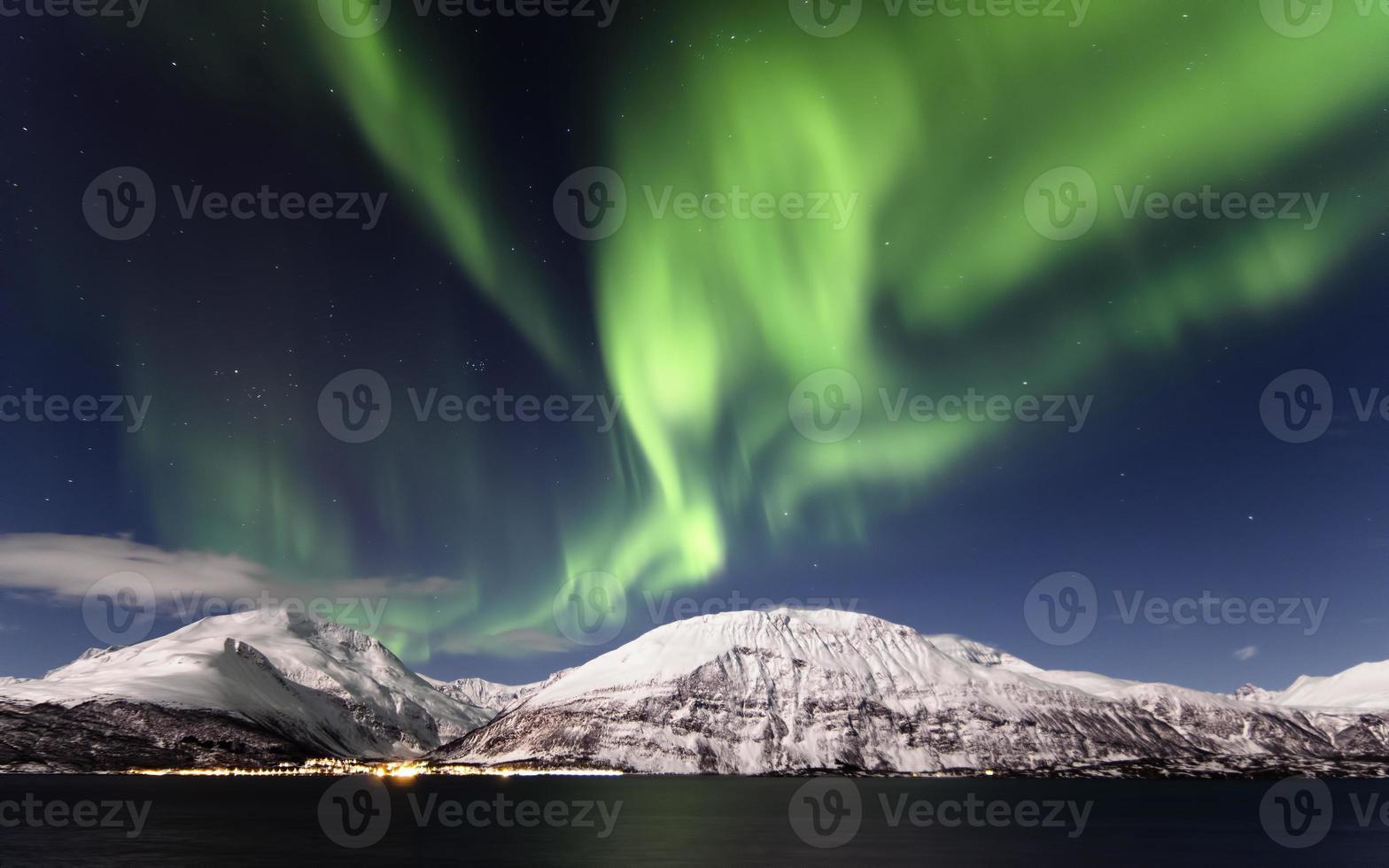 Aurora boreal foto