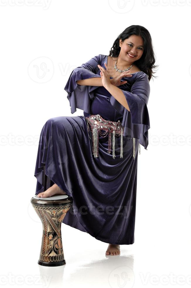dançarina do ventre asiática foto