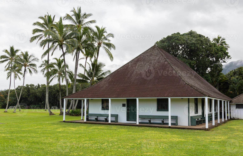 waioli huiia mission hall em hanalei kauai foto