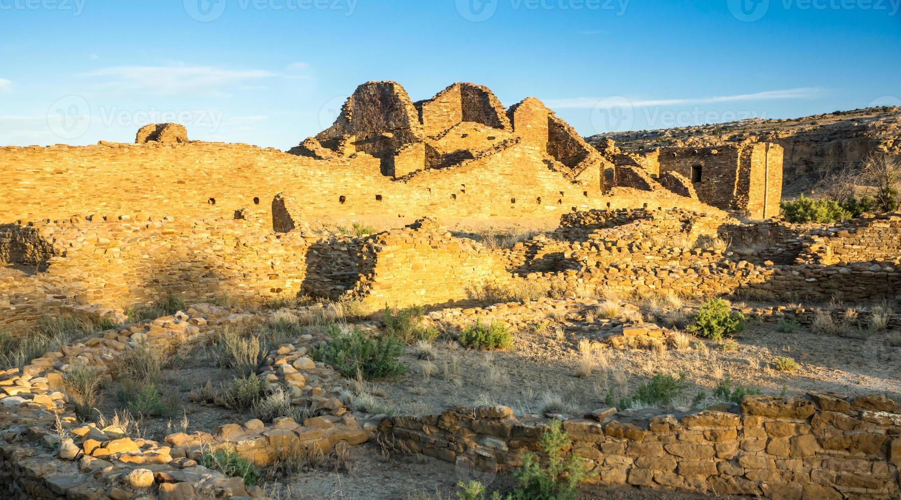 ruínas do pueblo del arroyo foto