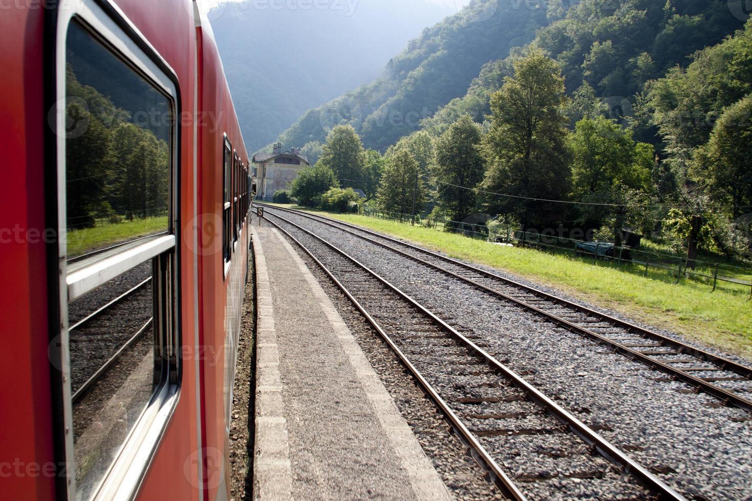 viagem de trem foto