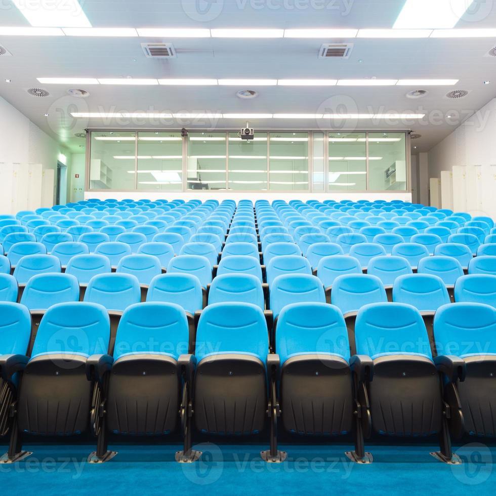 sala de conferências vazia. foto