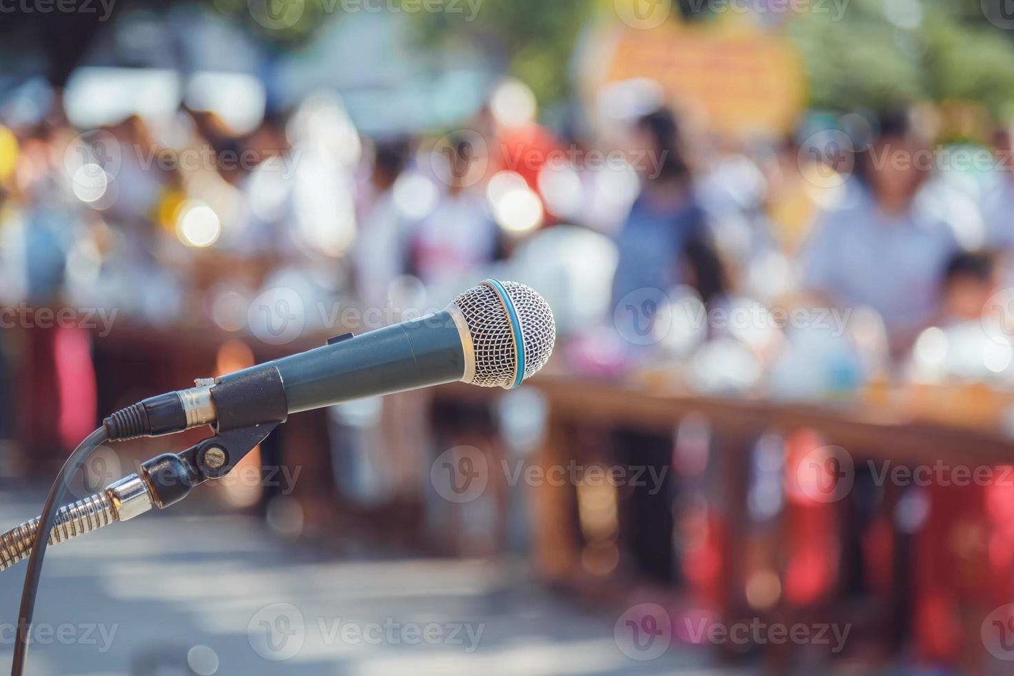 microfone na escola foto