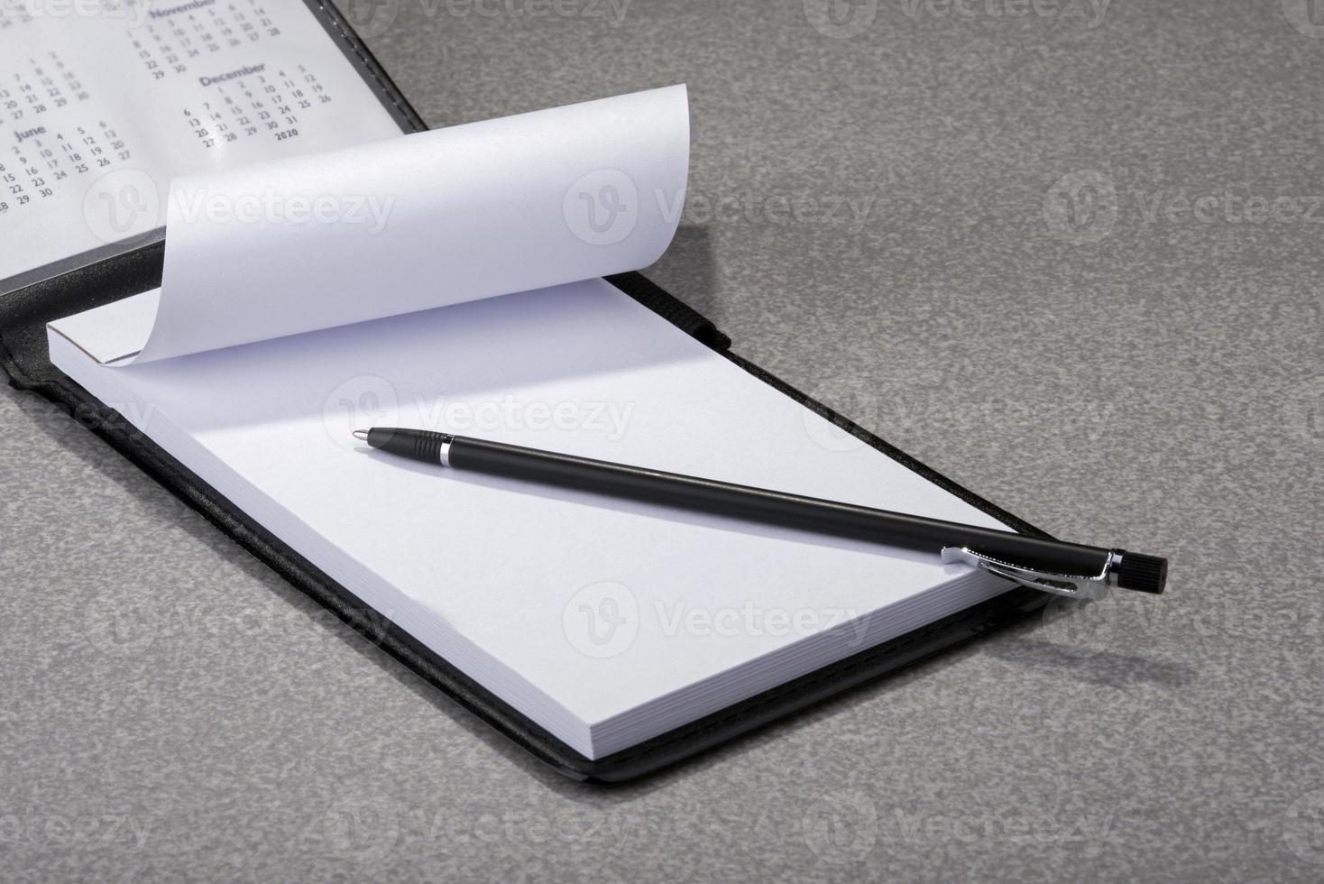 bloco de anotações foto