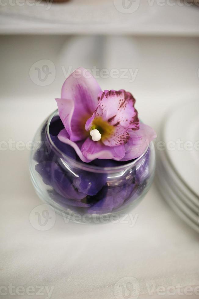 decoração de casamento flores foto