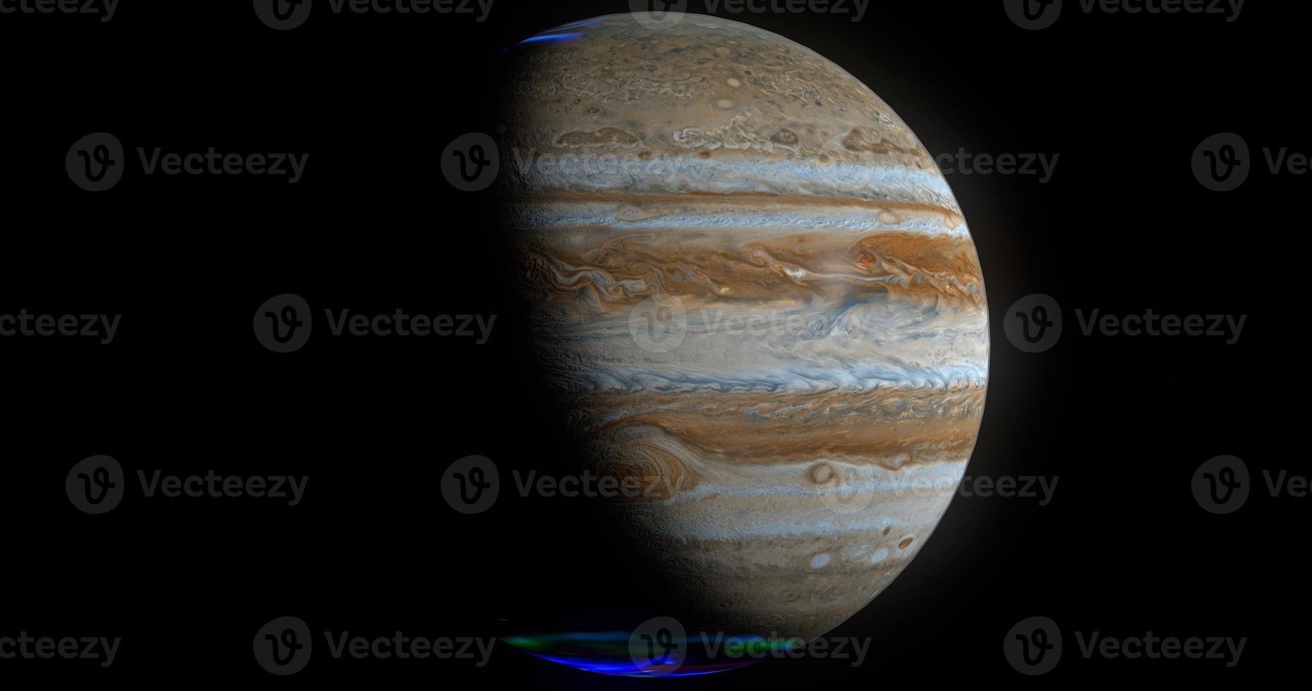 júpiter, render 3d foto