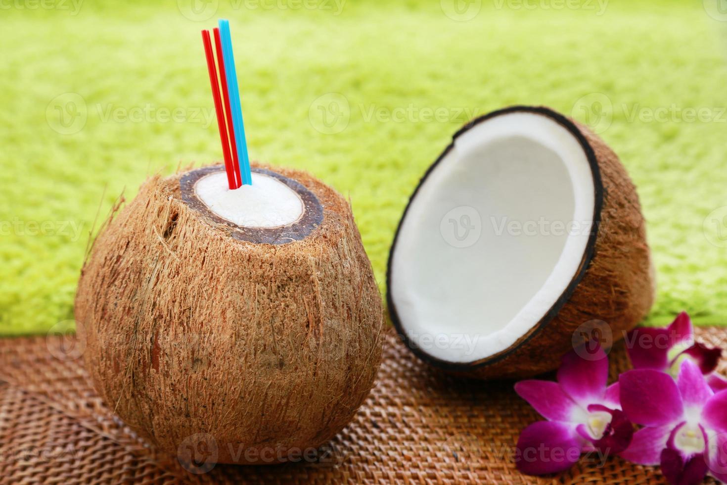 bebida de coco foto
