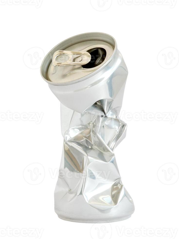 recipiente para bebidas em alumínio foto