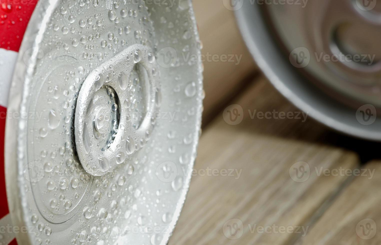 lata de refrigerante foto