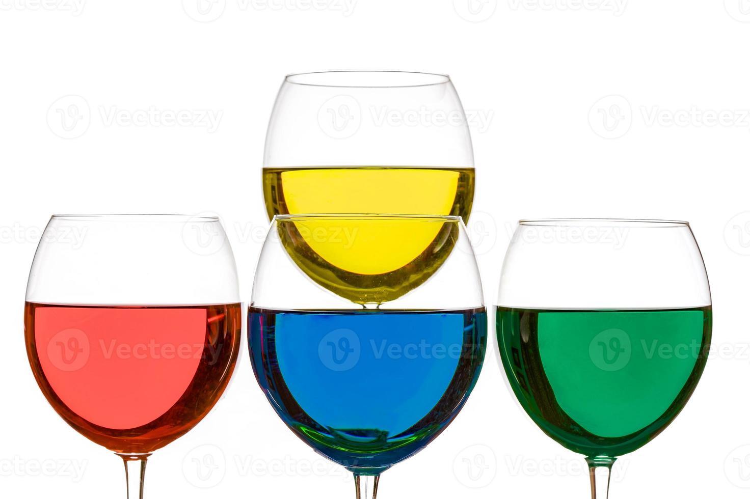 bebidas coloridas foto